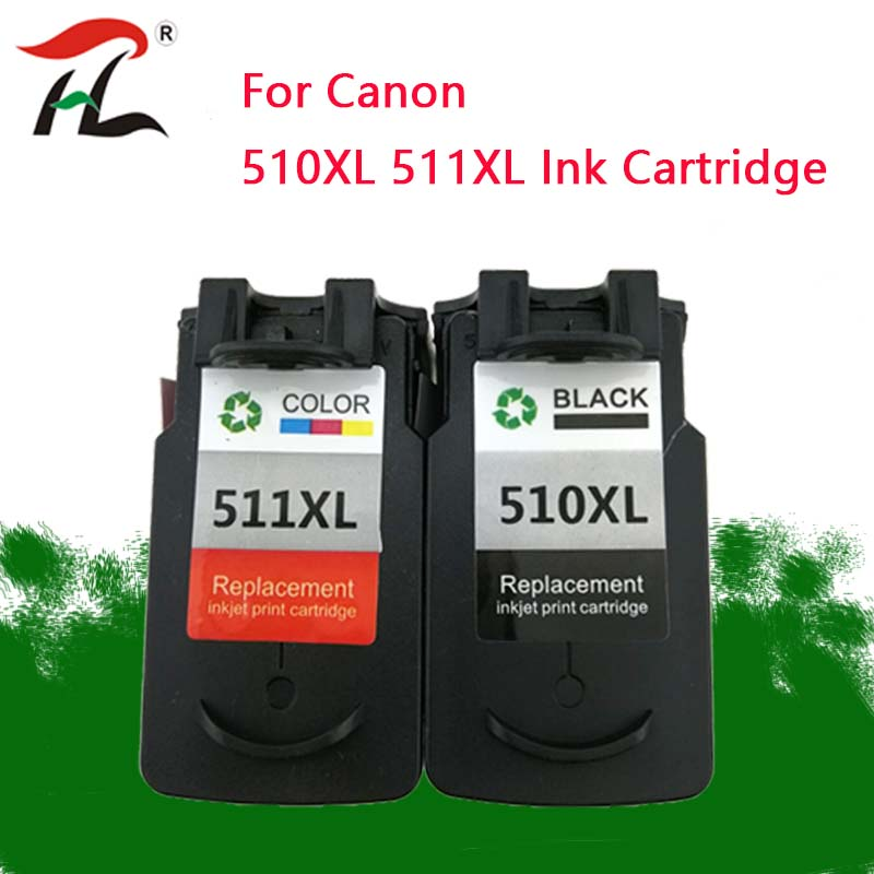 YLC 510 Cartridge For Canon PG 510 CL 511 PG510 CL511 Ink Cartridges For Pixma MP250 IP2700 MP480 MP490 MP230 MP280 Printer