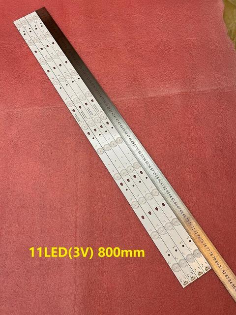 20 Cái/lốc Đèn Nền LED Dải Cho LT 40C540 LSC400HN01 LT 40E71 (Một) LED40D11 ZC14 03(B) MTV 4128LTA2 LED40D11 01(A) 30340011209