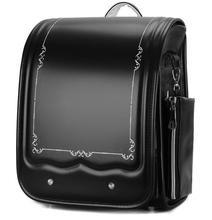 Japonia plecak szkolny dla dziewczynek dzieci plecak ortopedyczny torby na książki dzieci PU japonia tornister plecak dla studentów torba dla chłopców tanie tanio ZIRANYU zipper 1 3kg 35cm Stałe Dziewczyny 16cm 29cm Torby szkolne