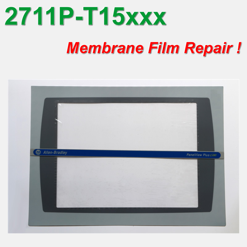Allen Bradley 2711P-T15C PanelView PLUS 1500 Membrane Overlay 2711P-T15 For Panel Repair,in Stock