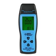 Умный датчик цифровой дозиметр излучения мини EMF метр ЖК-дисплей измеритель поля детектор излучений, дозиметр emf тестер счетчик