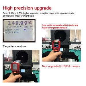 Image 5 - UNI T UT301A+ Non Contact Laser LCD Display IR Infrared Digital C/F Selection Surface Temperature Thermometer Pyrometer Imager