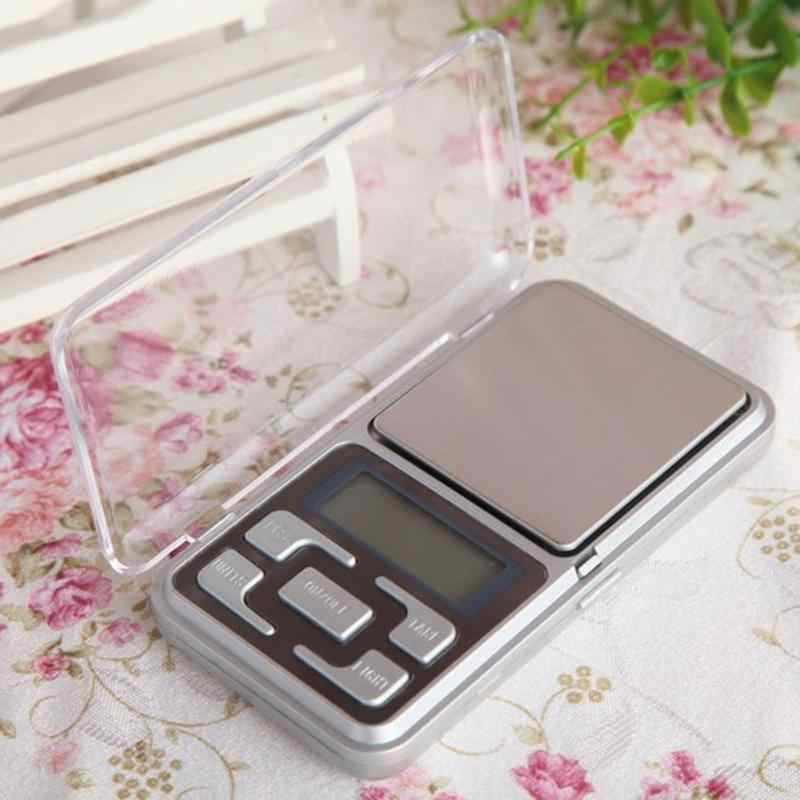 Mini Digital Scale Pocket Electronic LCD Scales for Fishing Luggage Travel Weighting Jewelry Steelyard Hanging 0.01g Precision