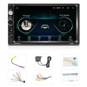 """Image 5 - Hikity 2 Din Radio samochodowe Android 8.1 7010B GPS 7 """"HD Autoradio odtwarzacz multimedialny Wifi Mirrorlink Radio dla Hyundai Nissian Toyota"""
