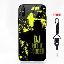 Classic Technics Turntables Dj For Apple iPhone 5 5C 5S SE 6 6S 7 8 Plus X XS Max XR Soft TPU Frame Tempered Glass Capa Case(China)
