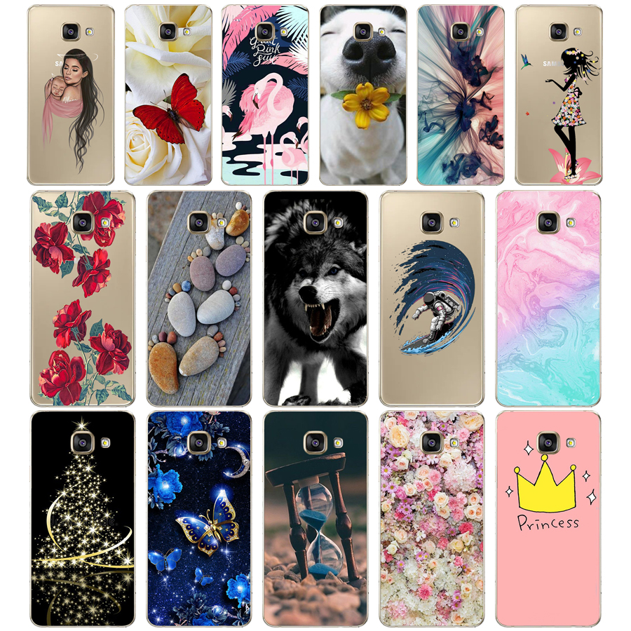 Cool Fashion Cover Cases For Samsung Galaxy A3 2016 A310 A310F Soft Silicone TPU Phone Case For Samsung A3 2016 Back Cover