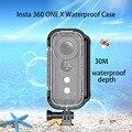 30 metros Insta360 ONE X Habitação Shell Caso Venture Mergulho À Prova D' Água Caixa de Proteção para Insta360 One X Acessórios Da Câmera