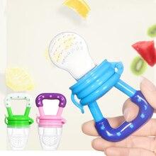 Fresh Food Nibbler Baby Pacifiers Feeder Kids Fruit Nipples Feeding Safe Supplies Nipple Teat Pacifier Bottles