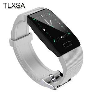 Image 1 - Sport Pedometer Smart Bracelet Blood Pressure Monitor Smartband Sleep Tracker Bluetooth Information Reminder Pulsera Inteligente