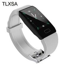 Sport krokomierz inteligentna bransoletka Monitor ciśnienia krwi Smartband Tracker snu Bluetooth przypomnienie informacji Pulsera Inteligente