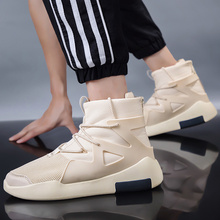 High street essential! Beautiful tide high Men and women high-top zipper casual sports basketball shoes