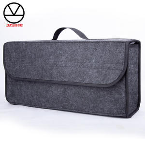 KAWOSEN Container-Bags Storage-Box-Case Cloth Tidying Car-Trunk-Organizer Felt Interior
