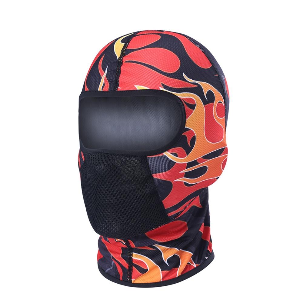 HEROBIKER Motorcycle Face Mask Ski Balaclava Moto Breathable Dustproof Airsoft PaintballCycling Skull Mask Moto Motorcycle Mask