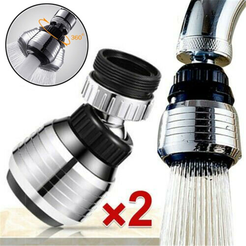 360 Rotate Water Faucet Bubbler Kitchen Faucet Filter Saving Tap Diffuser Bathroom Shower Head Filter Nozzle Water Saving Taps