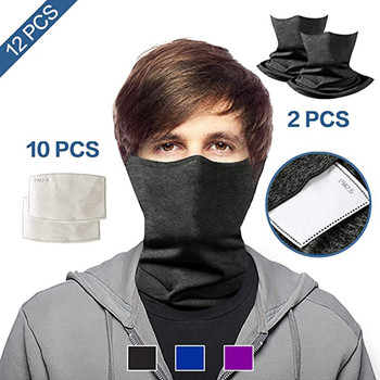 2pcs unisex face mouth mask washab
