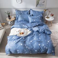 Cloud Star Duvet Cover Child Cartoon Nordic Bedding Set Bed Sheet Single Double Queen King Size Linen Couple Quilt