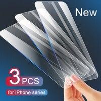Vetro protettivo per iPhone 11 12 Pro X XS Max XR vetro temperato per iPhone 7 8 6 6s Plus 12 mini 11 Pro pellicola salvaschermo