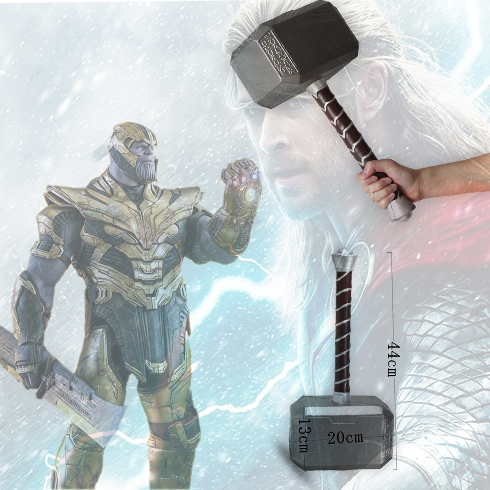 New Thanos Avengers Captain America Hammer Cosplay Prop