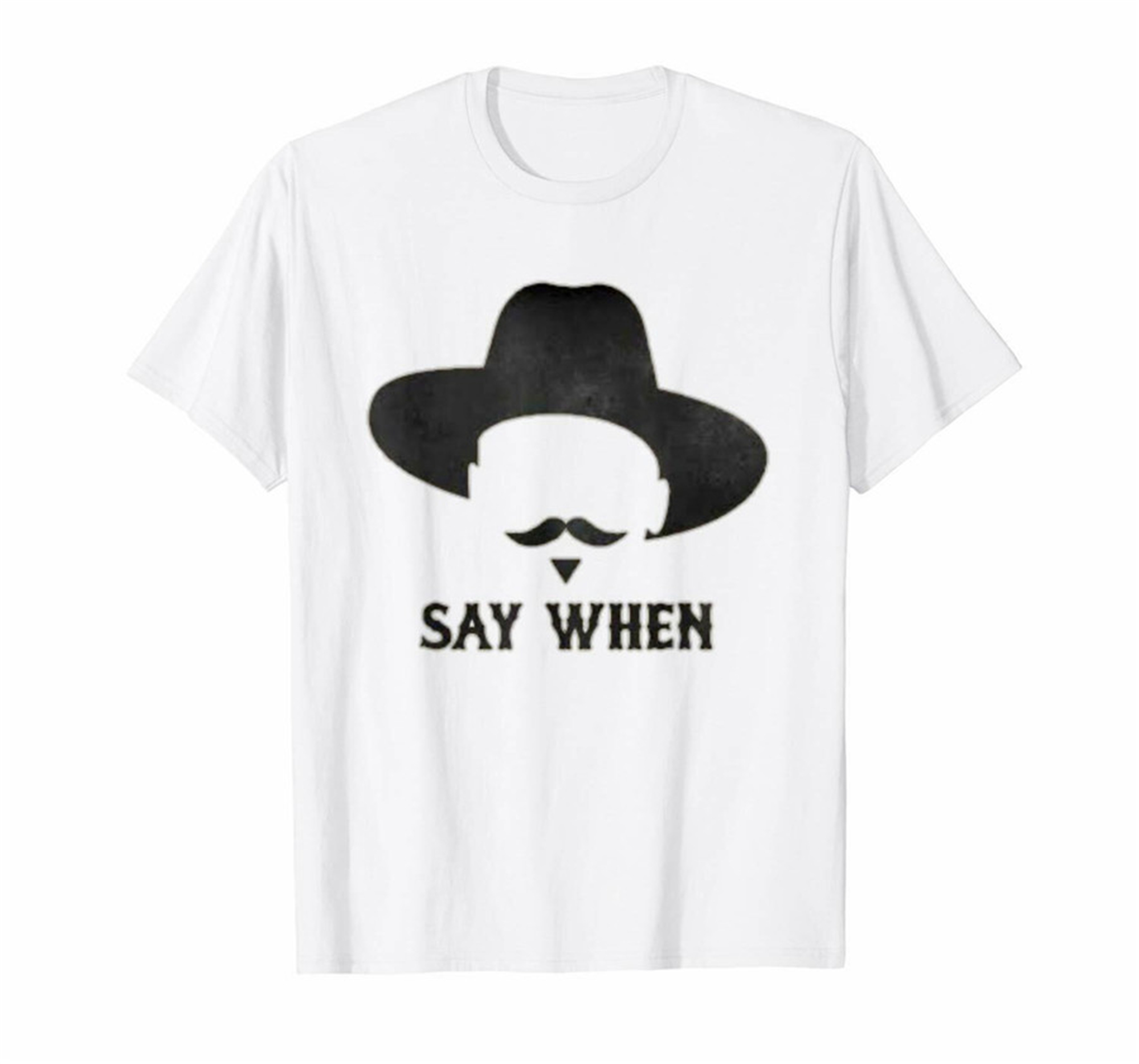 Tombstone Guns I/'m Your Huckleberry  White T-shirt Size S-3XL Mens Tee