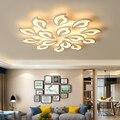 Новый дизайн  акриловые современные светодиодные потолочные лампы для гостиной  кабинета  спальни  лампе  плафон avize Indoor C