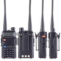 128ch 5w vhf uhf Baofeng UV-5R טוקי ווקי שני הדרך גירסת השדרוג CB רדיו Baofeng uv5r 128CH 5W VHF UHF 136-174Mhz & 400-520Mhz (2)