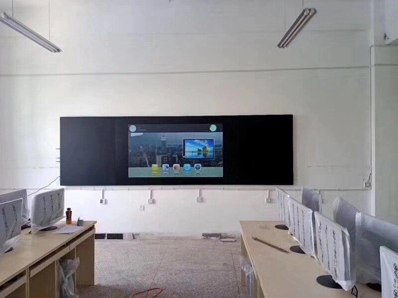 65 75 85 дюймов AIO nano интерактивный школьный обучающий сенсорный экран цифровой/Электрический доска