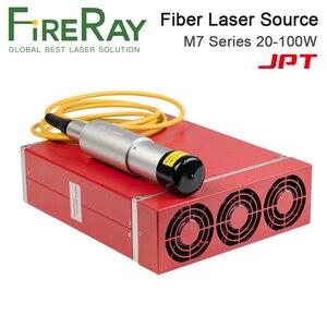 Волоконно-лазерный модуль FireRay JPT 20-100 Вт MOPA шириной импульса с красной точкой высокого качества для волоконно-лазерной машины