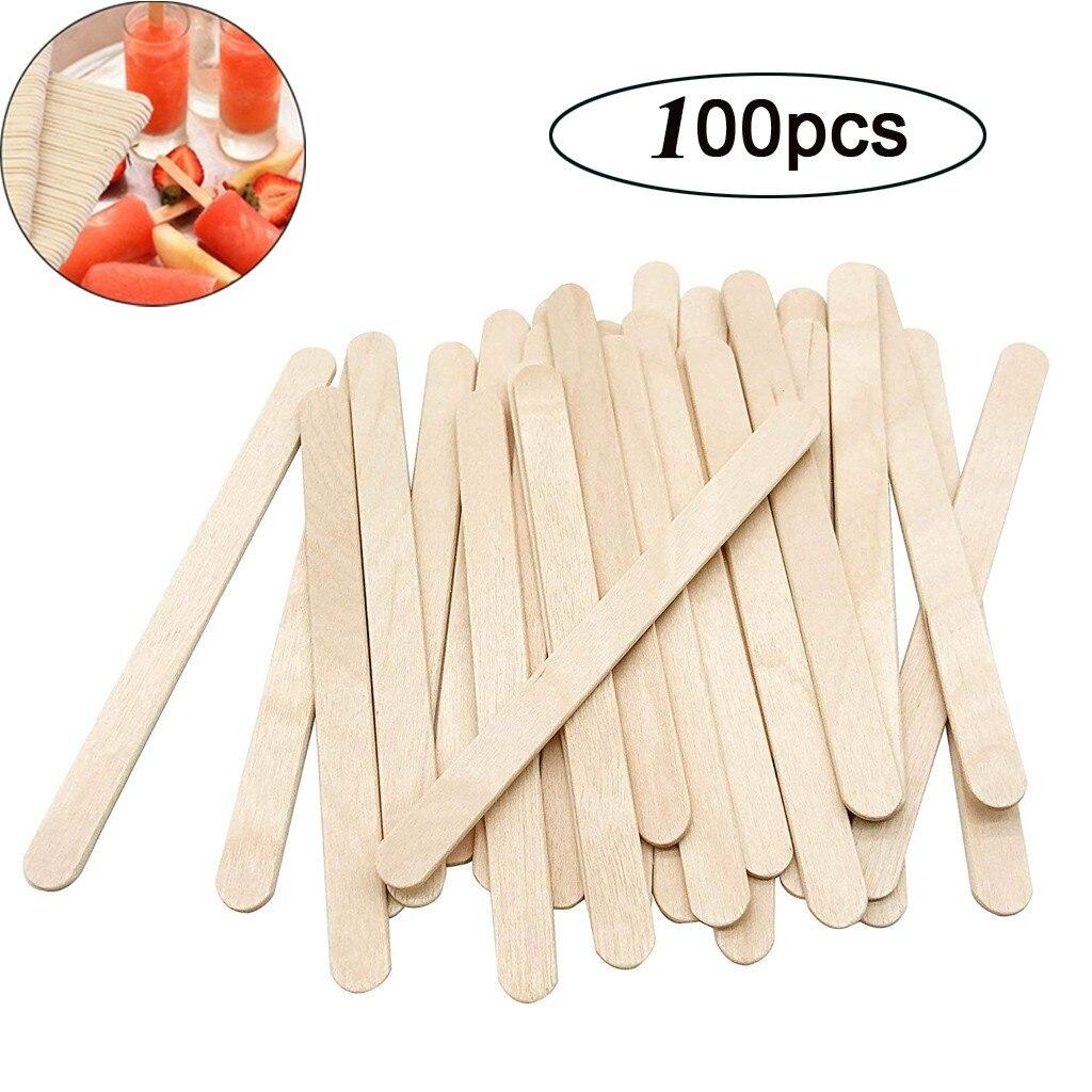 2021top 100 шт. палочки для рукоделия, палочки для мороженого, палочки для рукоделия из натурального дерева, товары для дома