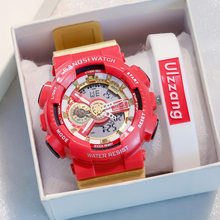 Net Red Outdoor Sport Item 30M Waterproof Sduden Alarm Clock Digital Watch with Hombre Christmas Gift for Boys and Girls(China)