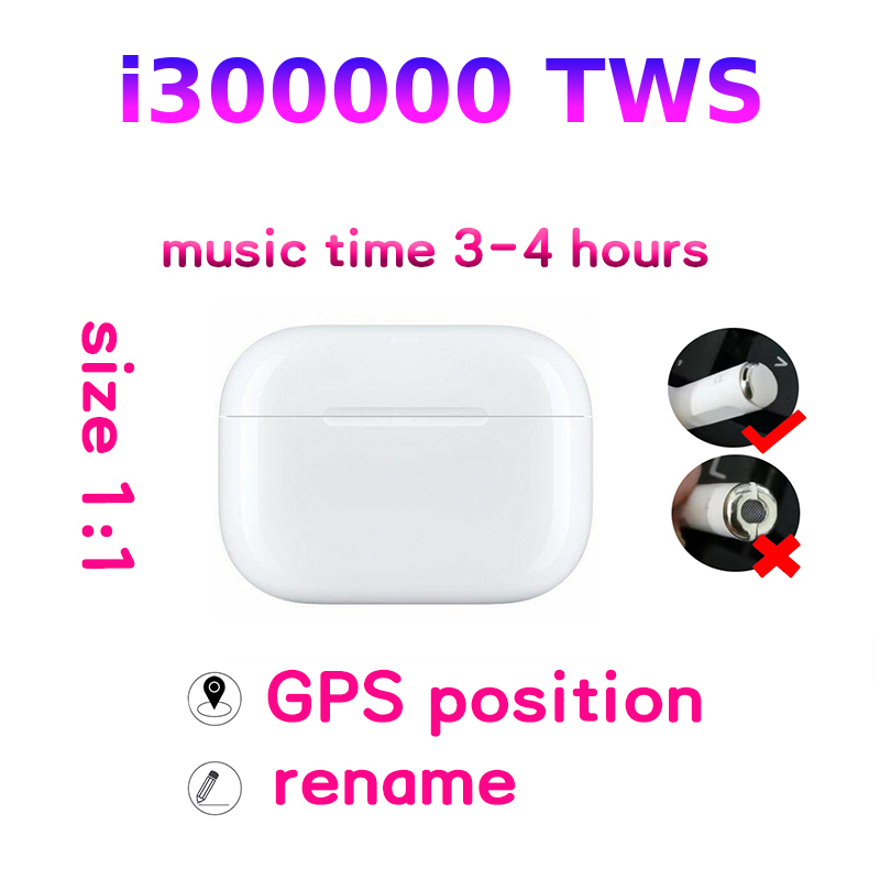 New <font><b>Original</b></font> i300000 Pro <font><b>TWS</b></font> Wireless Earphones Bluetooth 5.0 Earphone GPS Rename Headsets Denoise Earbuds PK <font><b>i90000</b></font> <font><b>TWS</b></font> i100000 image