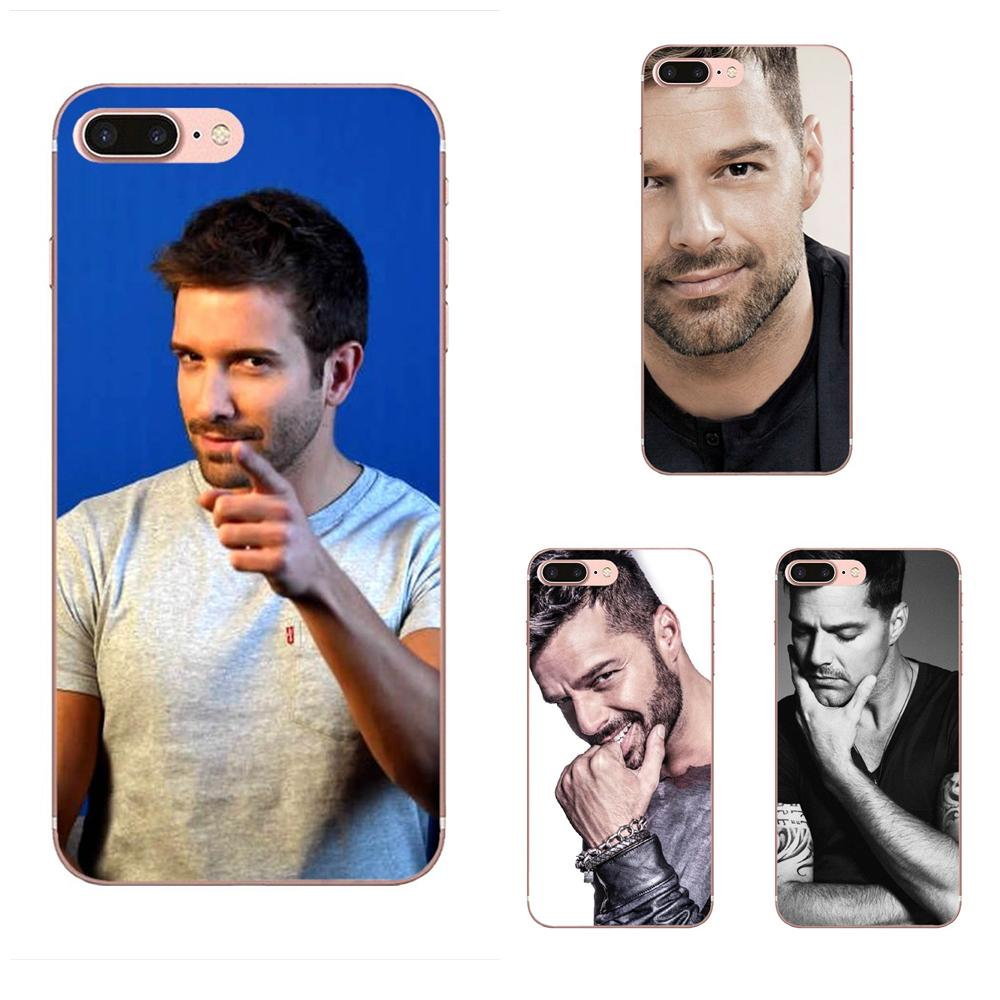 Ricky Martin Soft TPU Custom Design For Apple <font><b>iPhone</b></font> 4 4S 5 5C <font><b>5S</b></font> SE SE2 6 6S 7 8 11 Plus Pro X XS Max XR image