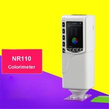 NR110 портативный цветовой анализатор цветной измеритель высокоточного покрытия краски цветной метр 3,7 в 3200 мАч перезаряжаемый цветной измеритель imeter 220 В