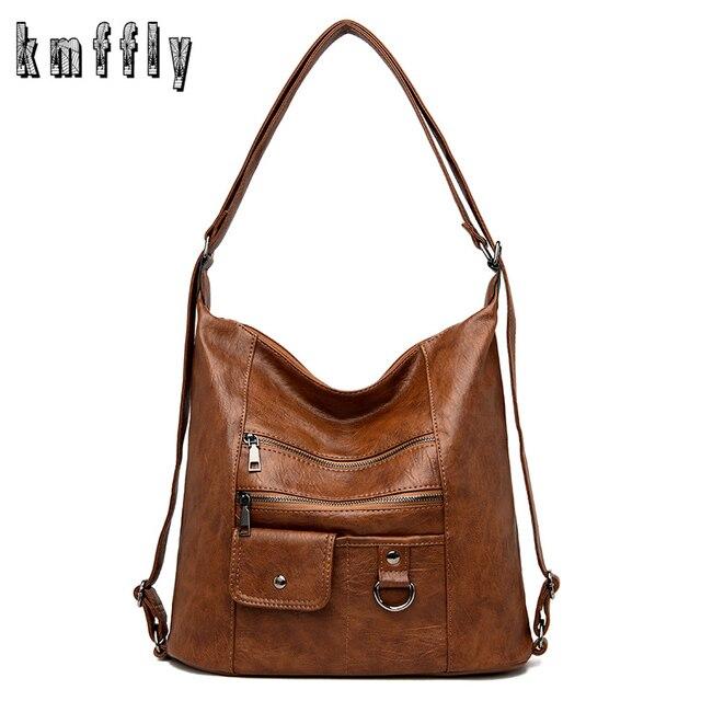 2020 NEW hot Women Leather Handbags Women Messenger Bags Designer Crossbody Bag Women Bolsa Top-handle Bags Tote Shoulder Bags 1