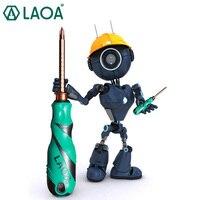 Destornillador magnético LAOA  Kit de reparación de herramientas  herramienta  destornillador ranurado de acero de aleación de Destornillador de estrella retráctil