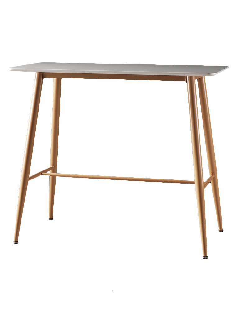 Northern Europe Personality Bar Counter Table Restaurant Rectangle Simplicity Modern Leisure Time Iron Art Bar Counter Partition