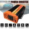 Inverter 12V 220V 12000Watt di Picco 6000W Auto Onda Sinusoidale Modificata Trasformatore di Tensione Solare Inverter di Potenza del Convertitore auto Carica USB