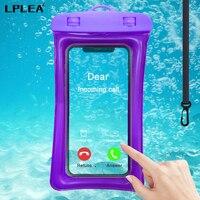 Funda de teléfono Universal impermeable IPX8, bolsa de natación a prueba de agua para Apple iPhone 12 Pro Max Xiaomi Redmi Note 9 Pro