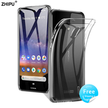Case For Nokia 2.2 TPU Silicon Clear Fitted Bumper Soft Case for Nokia 2.2 5.71 Transparent Back Cover цена