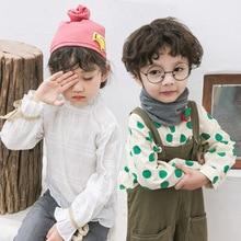 1-6 лет хлопок воротник шарф мальчиков и девочек осень зима дети шарфы животного чисто корейский ребенок может держать теплые детские кольца