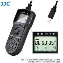JJC RM SPR1 Intervalometer temporizador de Control remoto para Sony ZV1 A7SIII A7RIV A7RIII A7RII A7III A7II A7SII A6100 A6300 A6400 A6600