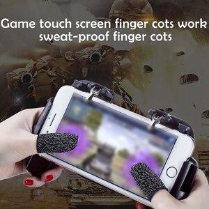 2 шт., Воздухопроницаемый чехол для игрового контроллера, защита от пота, перчатки для пальцев, не царапаются, чувствительный к царапинам, дл...