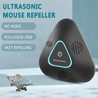 Repelente de pragas ultrassônico repelente eletrônico rato aranha inseto roedor repelente ultra-sônico capa 150 metros quadrados