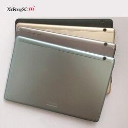 Für Huawei MediaPad T5 AGS2-W09 HN AGS2-AL00HN AGS2-AL00 batterie hintere abdeckung shell bildschirm rahmen Zurück Metall Panel Bodenplatte