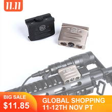 WADSN Airsoft Tactical RM45 Offset  Rail Mount For Surefir M300 M300B M600C M600B Rifle Scout Flashlight Hunting Accessory