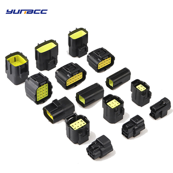 1 Set 1/2/3/4/6/8/10/12/16 Pin Way Denso 1.8 Series Male Female Car Auto Waterproof Wire Connector Electrical Plug image