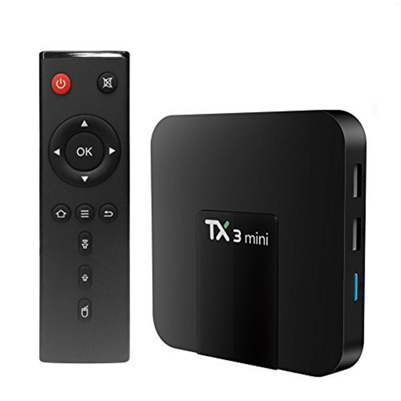 CLARO TX3 Мини Android TV Box 1/2GB Ram 8/16GB Rom Декодер каналов кабельного телевидения S905W 4K Quad Core Bluetooth Android9.0 Smart TV Box 2021