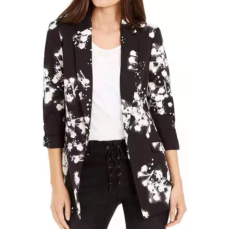 H14d4096d936e4ef68d523e2d9eb21d69V Fashion Trend Women Lapel Leopard Print Long Sleeves Suit Jacket Elegant Fall Winter Office Lady Cardigan Coat Casual Streetwear
