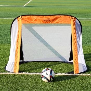 Los niños de los niños de fútbol Puerta de Mini fútbol brazo red objetivo juventud juego equipos de dispositivo al aire libre