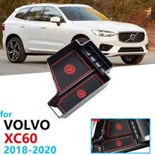 Organizador do carro Acessórios para VOLVO XC60 2018 2019 2020 Caixa de Armazenamento Braço MK2 Estiva Tidying MK2 RDesign T4 T5 T6 D4 D5