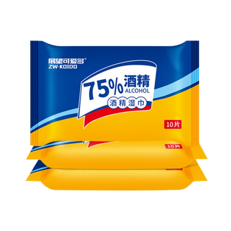 75% Alcohol Wipes 10 Bags Applicable For Multiple Scenarios Non-woven Fabric Household Cleaning ToolsB